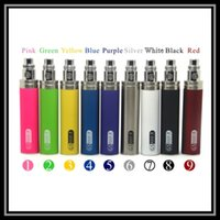 Wholesale Ego Twist V3 - GS EGO II 2200mAH Lumia Edition Ecig Battery Vaporizer Pen Tesla Spider Vision Spin3 eGo V3 ECT X Fir II EVOD Twist E-Cigarette