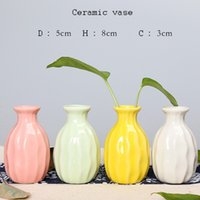 Wholesale Design Ceramic Vase - 2017 New Creative decorative vase simple office furniture, decorative design of dried flowers and ceramic crafts