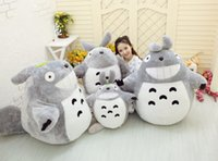 Wholesale Totoro Black Soft Toy - Wholesale 20cm Christmas Promotion Japan Anime TOTORO Soft & Stuffed Plush Toys Doll Pillow Cushion Birthday gift