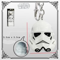 Wholesale Aqua Clone - ANIME COSPLAY TOY GIFT keyring Star Wars Clone Trooper metal Pendant keychain