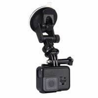 Wholesale session camera - Car Windshield Suction Cup Mount Holder W Screw Mount Adapter Storage Bag for Sport Camera HERO5 HERO4 Session HERO