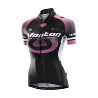 Wholesale Monton Women - Wholesale-Monton Cycling Jersey Bike Shirt Racing Clothe Riding Garment Bicycle Top For Women