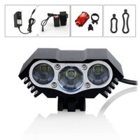 Wholesale Special For Bike - 2015 New Bisiklet Special Offer Bycicle Bicicletas for Bicycle 6000lm 3x Cree Xml T6 Led Headlight Front Bike Headlamp Head Light 18650