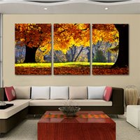 Wholesale Nature Print Paper - Nature Canvas Art Painting Scenery Pattern For Living Room Wall Art Canvas Art Cheap Chinese Art Painting 3 Pieces New Arrival