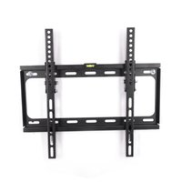 Wholesale Flat Tv Mounting Brackets - FLEXIMOUNTS LCD LED Plasma Flat Tilt TV Wall Mount Bracket Low Profile Fit for 23 26 32 37 40 42 47 50 55 TV Size w  Bubble Level T012