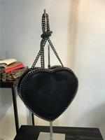 Wholesale Heart Sharp - Luxury stella falabella Shaggy Deer heart sharp crossbody shoulder bag