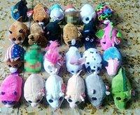 Wholesale ty big eye plush resale online - 8cm Mini Plush Beanie Boos Stuffed Dog Soft Big Dolls Penguin Cat Toys TY Eyes Animals Mouse Screen Cleaner Toy Xhtxk