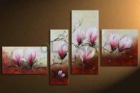 Wholesale Olo Art - huge lovely flower scape art handmade Abstract mordern oil paintings on canvas, wholesale oil paintings oLo PS_110