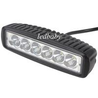 x x w toptan satış-1550LM Mini 6 Inç 18 W 6x3 W CREE LED Bar Worklight olarak çalışma Işık / Sel Işık / Spot Işık için Botla / Avcılık / Balıkçılık