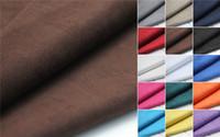 Wholesale Suede For Sofa - For sale for shoes sofa car bag mat cushion super soft Microfiber suede fabric ottawa super soft suede velvet fabric 15 colors