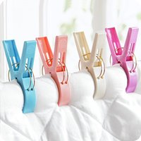 Big Size Plastic Beach Asciugamani Clips Quilt Clips lenzuolo Clothespins quilt clip intimo Clips Clothes Pioli