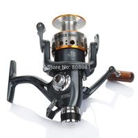 Wholesale Mitchell Saltwater Spinning Reels - Mitchell Fishing Reel High Power 1pc Free Shipping Spinning Fishing Reel Baitcasting Carp Mitchell Runner 5000 10BB 5.1:1 Reel