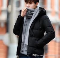 Wholesale Men S Down Jackets Cheap - Brand Designer Fashion Winter Down Jacket Men's Classic Warm Coat Luxury Jackets For Men Padded Plus Size Coats Cheap