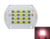 Wholesale Cree Xt E - Cree 28-62W 24   33-70W 28 Leds XP-E Red 620NM + XT-E Pure White 4800k Led Module Chip Light