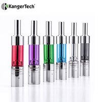 Wholesale Clearomizer Battery Glass - 100% Original Kanger mini protank 3 atomizer kangertech 1.5ml dual coil pyrex glass mini protank3 clearomizer for ego evod battery