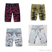 online shopping Mens White Jeans Size 32 - Newest Fashion Mens Shorts Jeans Designer Denim Jean Shorts Robin Short Jeans Summer Sportswear Shorts Teenager Hot Jeans US Sizes 32-42
