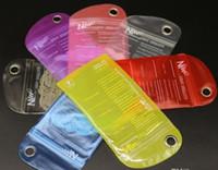 wasserdichte kleinverpackungsbeutel großhandel-Buntes wasserdichtes Beutel-Reißverschluss-Schutz-Kleinpaket, das Poly-PVC-Plastiktasche-Taschen für iPhone6 5S i9600 Telefon-Kasten verpackt