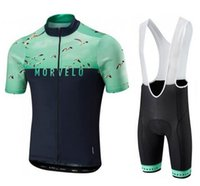 Wholesale Custom Team Clothing - 2018 New Morvelo ropa ciclismo Summer TEAM cycling Jerseys radfahren Ciclismo speciall UCI Personalized custom clothing