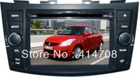 Wholesale Gps Maps For Sale - stocks sale: Car Dvd Gps for 7inch 2009-2013 NEW Suzuki Swift 2013 with steering wheel conrtol+8GB map+dual zone+phone link