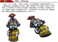 Wholesale Chinese Portrait - Peking Opera soft magnetic refrigerator stickers Chinese characteristics, Chinese style gifts to send foreigners abro