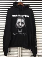 Wholesale Gothic Sweatshirt - 2017 Best Quality Oversized Vetements Women Men Hoodies Sweatshirt Hiphop Brand Gothic Print Hoodie Sweatshirts Pullover