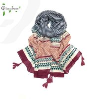 2017 Lattice Square Women Scarf Wave Stampa manuale Hang To Be Tourism Shade Telo da mare Dual Use
