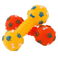 звуковые фрагменты оптовых-Собака щенок кошка жует игрушки для чистки зубов укус устойчивостью пищалка скрипучий звук играть игрушка для собаки
