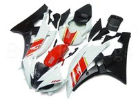 Wholesale Yzf Cowling - Complete Fairings For Yamaha YZF R6 2006 2007 YZF-R6 06 07 ABS Body Kit Motorcycle Fairing Kit Bodywork Cowlings Red White Black