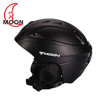 Wholesale moon ski helmet special autumn and winter Snowboard helmet outdoor sports men and women ski equipment