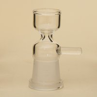 Wholesale Smoke Supplies Wholesale - 18.8MM Female Bowl With Handle Glass Pipe Bowl Supply For Water Smoking Pipe Bong PA006