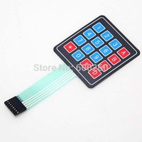 Nuovo 4 * 4 Matrix Array / Matrix Keyboard Key 16 Membrana Switch tastiera per ordine arduino 18 dollari senza monitoraggio