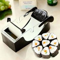 Wholesale Perfect Machine - SuShi Maker Newest DIY Sushi Roller Cutter Perfect Machine Roll Magic Rice Mold Maker Kitchen Accessories Tools Gadgets CCA8334 20pcs