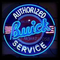 2015 Neon Sign commerciale logo personalizzato Neon Sign NY Jets Buick Servizio Neon Sign Handicraft Conservare Display 24 * 24