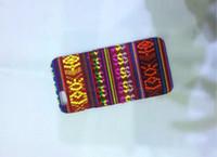 Wholesale Aztec Tribal Iphone Hybrid - For iphone 6 6S 4.7 Plus 5.5 5 5S Aztec Tribal Tribe Retro Vintage Leather Hybrid PC Plastic Hard Case Colorful Fashion Skin cover 350pcs