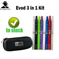 Wholesale Ego T Mega - Evod Twist 3 in 1 Vaporizer Kit Wax Dry Herb 650 900 1100mah VV Battery VS EVOD MT3 eGo T CE4 Evod Mega