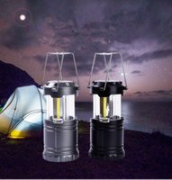 Wholesale Cob Technology - LED Camping Lanterns LED Portable retractable Camping light LED COB Technology Battery Powered Water Resistant Collapsible Lante