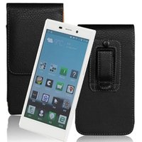 Wholesale gionee cases online – custom Wholeale New PU Leather Lichee Smooth Pattern Belt Clip Holster Pouch Cover Case For Gionee Elife E7 High Quality Free