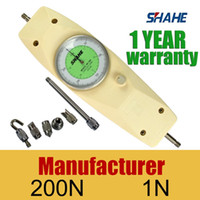 Wholesale Tension Meter Gauge - Wholesale-Pointer push tension meter dynamometer NK-200 Dial Mechanical Push-Pull Gauge Precision Force gauge shipping free