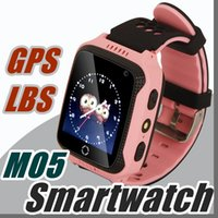 2017 M05 Smart Watch per bambini Kids GPS Watch per Apple per Android Phone Smart Baby Watch Elettronica Due colori disponibili Y-BS