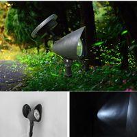 Wholesale Light Hood - NEW 3 LED Solar Power Garden Lamp Spot Light Outdoor Lawn Landscape Path Spotlight Hood projection solar lamp