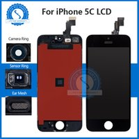 Top Touch Screen Display LCD di qualità AAA per iPhone 5C Mobile Phone Lcds Digitizer Assembly Parts Grande pacchetto