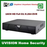 Wholesale Stand Dvr Full - Free shipping 2014 new security camera system dvr 1080P HDMI 16CH full D1 400 480FPS H.264 Securty Stand-alone Network DVR CCTV System