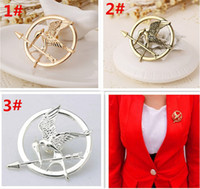 Wholesale arrow brooches for sale - Group buy 300pcs best price colors The Hunger Games Brooches Inspired Mockingjay And Arrow Brooches Pin Corsage Promotion European D429