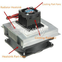 Wholesale Refrigeration Cooling System - Thermoelectric Peltier Refrigeration Cooling System Kit Cooler fan + TEC1-12706