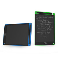 kalem yastıkları toptan satış-8.5 inç LCD Yazma Tablet Çizim Kurulu Karatahta El Yazısı Pedleri Hediye Çocuklar için Kağıtsız Not Defteri Tabletler Memo Yükseltilmiş Kalem Ile