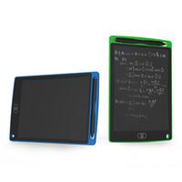 bloc-notes cadeaux achat en gros de-8,5 pouces LCD écriture tablette planche à dessin tableau noir tampons d'écriture cadeau pour enfants sans papier bloc-notes tablettes mémo avec stylo amélioré