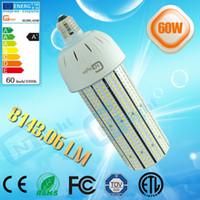 Wholesale Post Degree - Hot sale 60w led garth lamp post top light 360 degree indoor led corn bulb light 3 years warranty