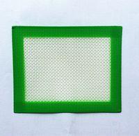 Wholesale Rubber Slicker - USA Canada Popular FDA approved Food grade small size 102x127mm non-stick slick oil silicone dab mat pad