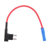 Wholesale Wholesale Fuse Holder - 2-Add A Circuit Fuse Tap Piggy-Back Fuse Holder APS ATT Mini Low Profile K1834