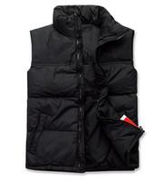 Wholesale New Male Vest Men S - New 2016 Men Down Jacket Colete Masculino Waistcoat Military Veste Homme Winter Fishing Vest Male Sleeveless Jacket Clothing